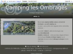 Camping Le Ombrages Carlux en dordogne périgord noir