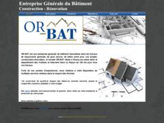 Création du site Internet de OR-BAT (Entreprise de Entreprise générale à ROSNY-SUR-SEINE )