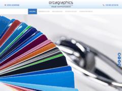 Détails : Orcagraphics: lettrage de véhicules professionnels