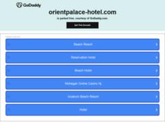 Détails : orient palace sousse