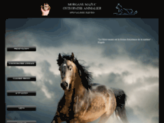 Morgane Mazuc - Ostéopathe animalier
