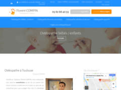 Ostéopathe à Toulouse Florent COMPIN
