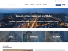 OWN, l'expertise en investissement immobilier