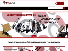 Détails : Tous les transpalettes chez Palvac