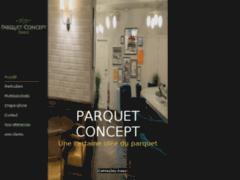 Création du site Internet de parquet concept (Entreprise de Carreleur à ST MAUR DES FOSSES )
