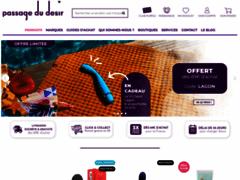 Passage du Désir - La boutique sexy en ligne pour les amoureux