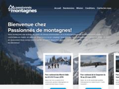 Site Détails : Passionnés de montagnes, séjour randonnées et hébergement en chalet