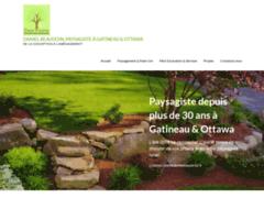 Détails : Daniel Beaudoin, le paysagiste de Gatineau & Ottawa depuis 30 ans.