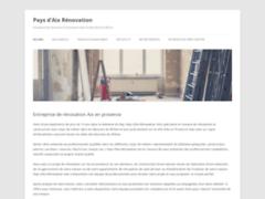 Détails : Pays d'Aix Rénovation