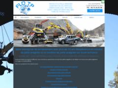 Création du site Internet de FLO TP (Entreprise de Terrassier à BONNEVAL/ARC )