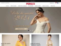 Détails : Robe de mariée classique à prix abordable