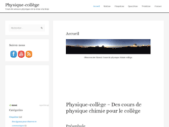 Détails : Meilleurs cours de physique-chimie pour les collégiens