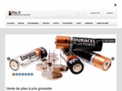Détails : Pile.fr Vente de piles en ligne