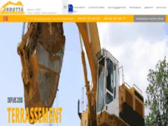 Création du site Internet de SAS Pirrotta Terrassement (Entreprise de Terrassier à OLLIOULES )