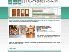 Création du site Internet de les platreries yohann (Entreprise de Isolation à MAROEUIL )