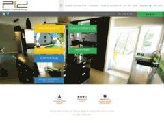 Création du site Internet de Philippe Legrand Design (Entreprise de Architecte à LA GRANDE MOTTE )