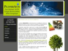 Création du site Internet de Plombavis (Entreprise de Plombier à ARGUEL )