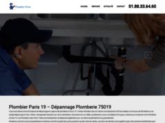 plombier sur paris 19 Service 24H/24 7J/7