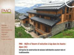 Création du site Internet de P.M.O (Entreprise de Constructeur de maison à GAP )