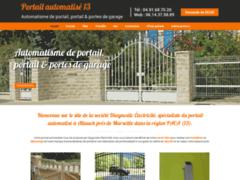 Création du site Internet de Diagnostic Electricite (Entreprise de Entreprise de clôture à ALLAUCH )