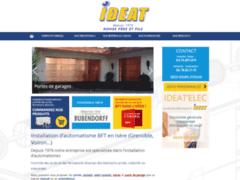 Création du site Internet de I.D.E.A.T. (Entreprise de Entreprise de clôture à BOURG D'OISANS (LE) )