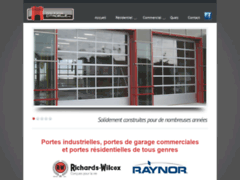 Détails : Porte industriel et porte de garage commercial de grande qualité