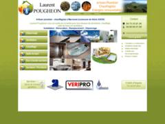 Création du site Internet de Laurent POUGHEON (Entreprise de Plombier à VOLVIC )