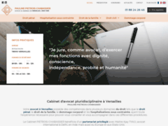 Cabinet d'avocat pluridisciplinaire à Versailles