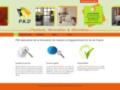 Création du site Internet de P.R.D (Entreprise de Entreprise générale à LISSES )
