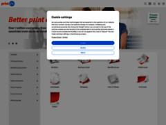 Détails : Carte de visite en ligne - Print24