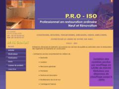 Création du site Internet de  ENTREPRISE P.R.O-ISO (Entreprise de Entreprise générale à LA BELLIERE )