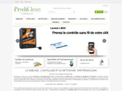 Détails : Produits de nettoyage professionnel