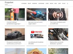 Détails : Propulser : actualité web