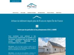 Création du site Internet de PROTECT PEINTURE (Entreprise de Peintre à DEUIL LA BARRE )