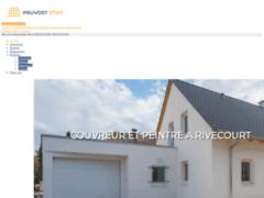 Création du site Internet de PRUVOST STIVY (Entreprise de Couvreur à RIVECOURT )