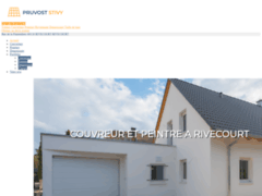 PRUVOST STIVY: Couvreur à RIVECOURT