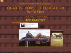 Quarter Horse et Equitation Western en Nvelle Caledonie