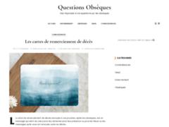 Détails : Questions Obsèques
