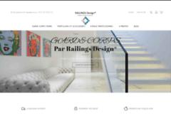 RAILINGS Design, des garde-corps et rambarde escalier en verre