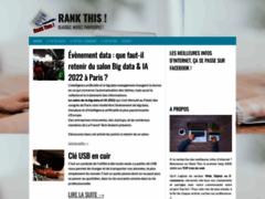Rank This : portail web pour découvrir les meilleures informations d'internet