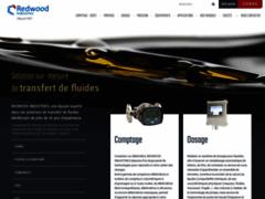 Détails : Pompe vide fut et débitmètres- Redwood Industries
