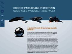 Détails : Obtenir un code parrainage Star Citizen