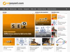 Refpayant, webzine sur le webmarketing