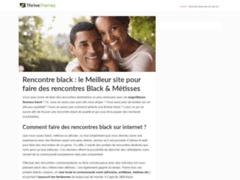 Détails : Comment trouver un site de rencontre black?