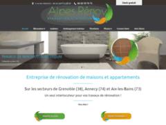 Création du site Internet de SARL ALPES RENOV (Entreprise de Cuisiniste à SEYSSINET-PARISET )