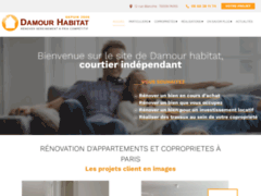 Damour Habitat: Courtier en travaux à PARIS
