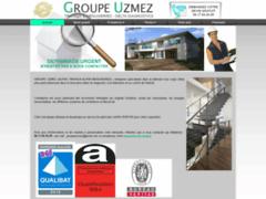 Création du site Internet de GROUPE UZMEZ-ALPHA TRAVAUX& MENUISERIES-DELTA DIAGNOSTICS (Entreprise de Entreprise générale à MEYZIEU )