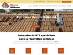 Création du site Internet de Renove Batiment (Entreprise de Entreprise de nettoyage à MEAUX )