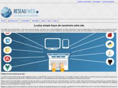 Détails : créer son site internet avec reseauweb.fr