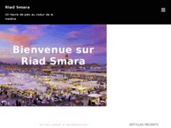 Détails : chambre riad marrakech